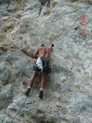 Rock Climbing Photo: Solution pockets...