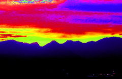 Rock Climbing Photo: sunset2
