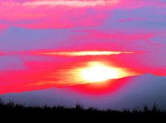 Rock Climbing Photo: sunset8
