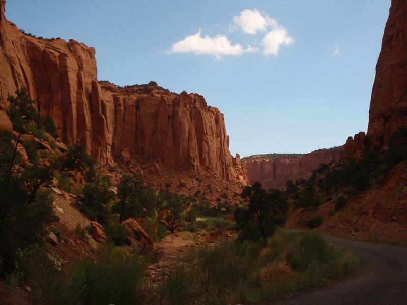 Rock Climbing Photo: Long's Canyon