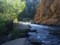 Rock Climbing Photo: S. Platte, Elevenmile Canyon.
