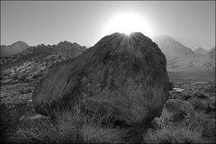 Rock Climbing Photo: Buttermilk Sun. Photo by Blitzo.