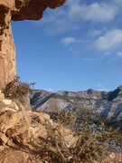 Rock Climbing Photo: Looking south from Cactus Cliff, Shelf Road.