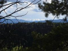 Rock Climbing Photo: Las montañas de la Sangre de Christo, from Cactus...