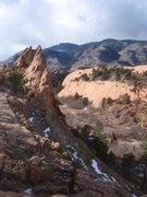 Rock Climbing Photo: Red Rock Canyon.