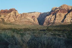 Rock Climbing Photo: Early morning, Pine Creek Canyon.