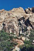 Rock Climbing Photo: Getting close... Solar Slab and Solar Gully.