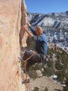 Rock Climbing Photo: Craig sending I Lean.