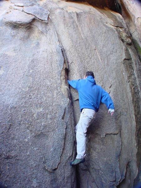 Rock Climbing Photo: Hanzo,Sword of justice