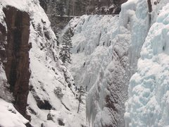 Rock Climbing Photo: ouray ice festival, first time climbing ice. schoo...