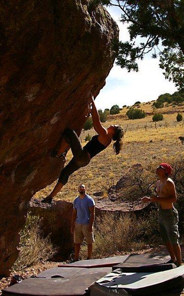 e block climbing Pressure Drop.(Photo: Bob Broilo)