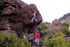 Rock Climbing Photo: John Cardwell on Colon Blow.(Photo: Bob Broilo)