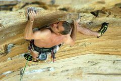 Rock Climbing Photo: Dial 911, New River Gorge, WV. PHOTO: Jeff Gardner