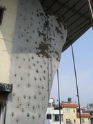 Rock Climbing Photo: The vertical wall.