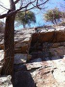 Rock Climbing Photo: Evan's Arete, Jamestown, AL