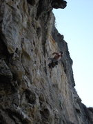 "Rock Climbing Photo: Justin Day on  ""Getting To Know You""..."