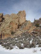 Rock Climbing Photo: The Rock N' Roll Wall.