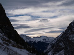 Rock Climbing Photo: Lenticulars above the San Juans.
