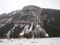 Rock Climbing Photo: Campground Couloir.