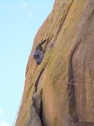 Rock Climbing Photo: The cold, yet very high quality 1st pitch