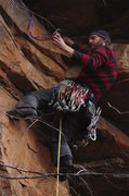 Rock Climbing Photo: jon richard in the freddy sweater.