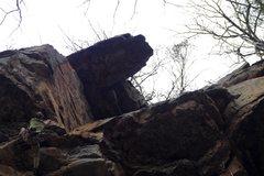 Rock Climbing Photo: jeff Evans on Atom Smasher