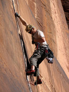 Rock Climbing Photo: Krister Jonnson of Alpine Madness.