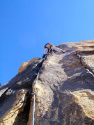 Rock Climbing Photo: Crack Dream (Lightening Crack)