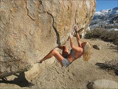 "Rock Climbing Photo: Jona Price playing on ""Pope's Roof"". Pho..."