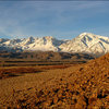 Sierras from The Tablelands.<br> Photo by Blitzo.