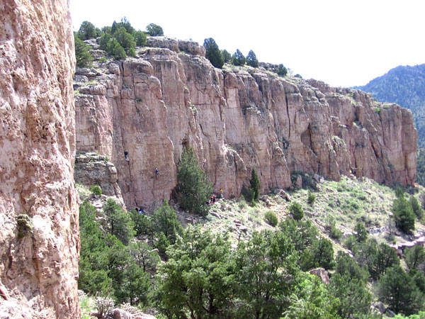 A picture of the Cactus Cliff