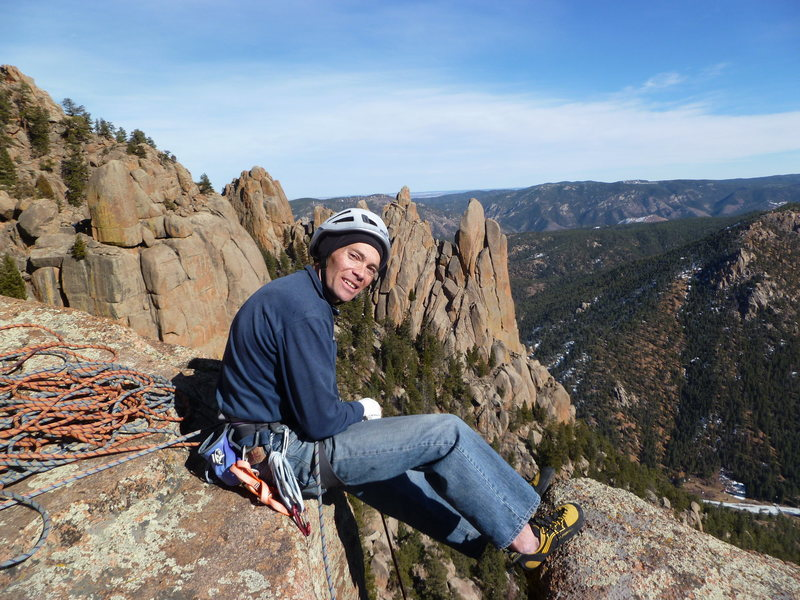 Rock Climbing Photo: Great day in the Cathedral Spires.