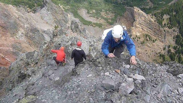 Rock Climbing Photo: North Ridge Route