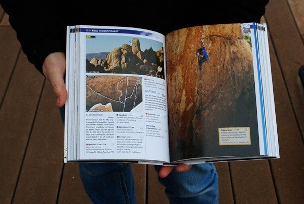 Josha Tree climbing guidebook by Robert Miramontes