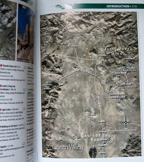 Rock Climbing Photo: Sample map