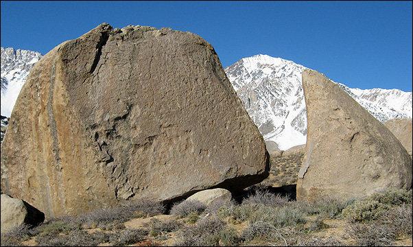 Peabody Boulders east, Buttermilks.<br> Photo by Blitzo.