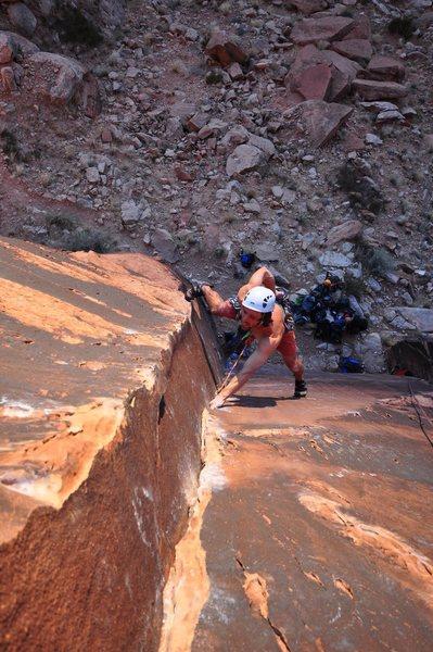 Rock Climbing Photo: Disco Machine Gun