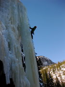 Rock Climbing Photo: Crystal Meth at the Loch