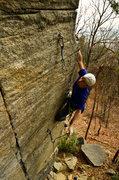 Rock Climbing Photo: Post crux jugs! Gotta love'em!  Photo By: Adam Joh...