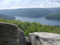Rock Climbing Photo: The view from the summit.