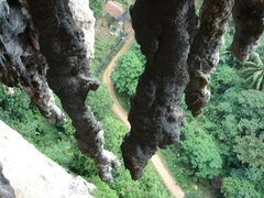 Rock Climbing Photo: View from the Belay cave...