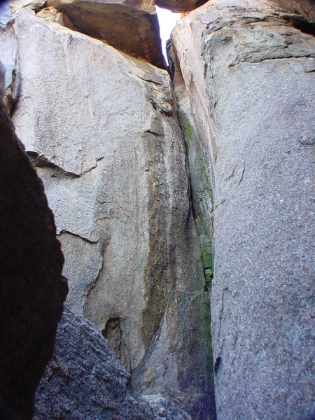 Rock Climbing Photo: Typical run off in dirty conditions