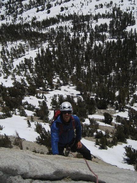 Rock Climbing Photo: good snow year