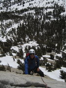 Rock Climbing Photo: good snow year