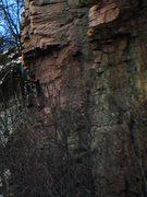 Rock Climbing Photo: Mike D working Horizontal ZeRos