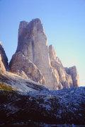 Rock Climbing Photo: Cima Piccola Yellow Edge