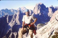 Rock Climbing Photo: Cima Piccola Views from the Anticima summmit