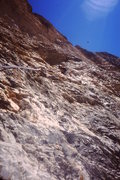 Rock Climbing Photo: Beautiful pockets on great rock after the first ma...