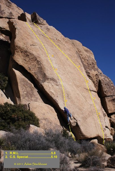 Rock Climbing Photo: ATS topo