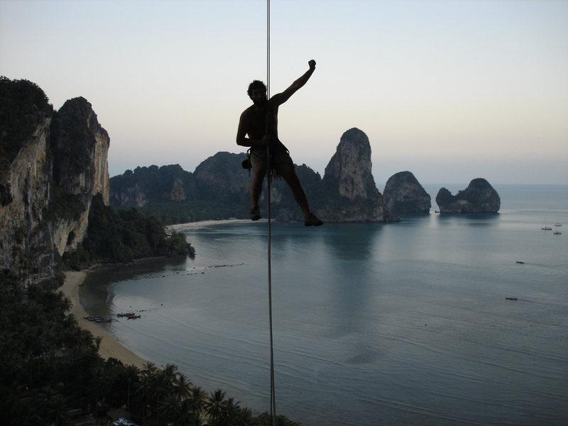 Rock Climbing Photo: Rapelling from Monkey See Monkey Do... Note:very f...